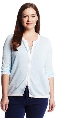 Pendleton Women's Plus-Size Textured Cardigan Sweater