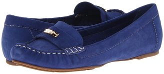 Kate Spade Wilamina (Cobalt Kids Suede) - Footwear