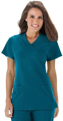 Jockey Women's Scrubs Wrinkle-Free Top 2206
