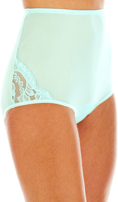 Vanity Fair Lace-Trim Briefs - 13001 $10 thestylecure.com