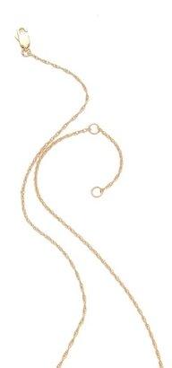 Jennifer Zeuner Jewelry Mattea Double Heart Necklace