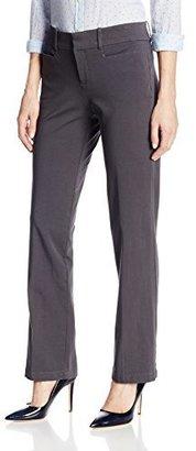Dockers Women's Ideal Straight-Leg Trouser Pant $50 thestylecure.com