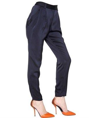 Vionnet Silk Jersey Trousers