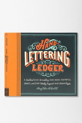 Urban Outfitters Hand-Lettering Ledger By Mary Kate McDevitt