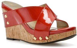 Me Too Bongo Wedge Sandal - Red