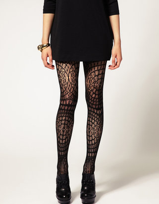 Asos Crochet Lace Tights