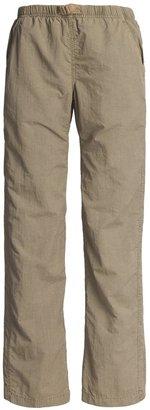 White Sierra Quick-Dry Nylon Pants (For Women)