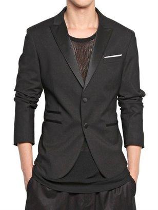 Neil Barrett Stretch Cotton Nylon Tuxedo Jacket