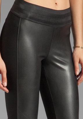 Paige Paloma Ponte Vegan Leather Legging