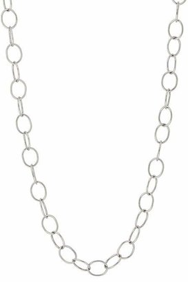 Cathy Waterman Women's Platinum Oval-Link Chain Necklace