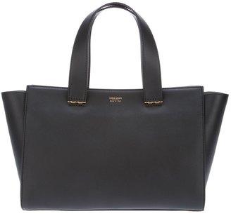 Giorgio Armani medium leather shopper