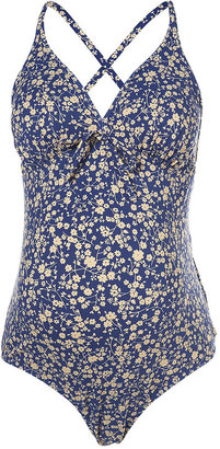 Topshop Maternity Flower Swimsuit