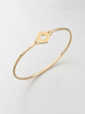 Marc by Marc Jacobs Skinny Bolt Nut Bangle Bracelet