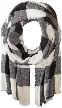 Hat Attack - Buffalo Check Scarf Scarves $60 thestylecure.com