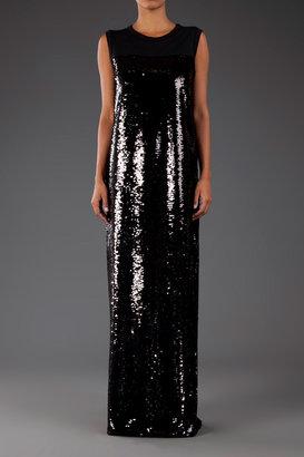 Giambattista Valli Sleeveless Sequin Gown