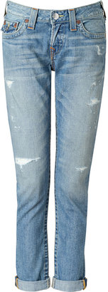 True Religion Wagoneer Medium Wash Cameron Boyfriend Jeans
