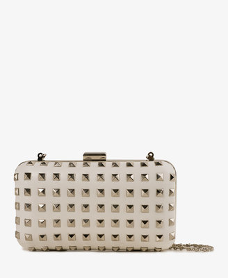 Forever 21 Studded Structured Clutch