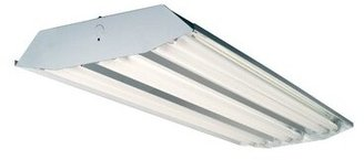 Howard Lighting 6-Light High Bay Fluorescent Light Fixture Howard Lighting