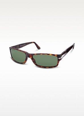 Persol Arrow Signature Rectangular Plastic Sunglasses