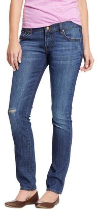 Old Navy Women's The Diva Distressed Skinny Jeans
