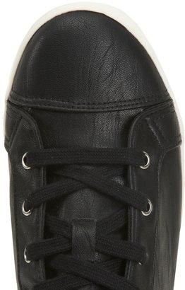 Aeropostale Leopard Heel Mid-Top Sneaker