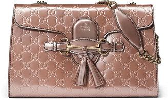Gucci Emily Guccissima chain shoulder bag