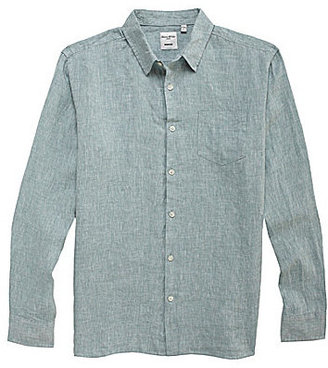Murano Long-Sleeve Linen Solid Sportshirt
