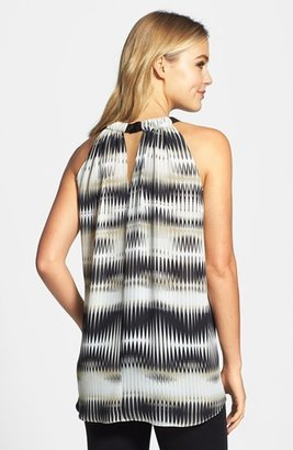 Vince Camuto 'Linear Echoes' Blouse