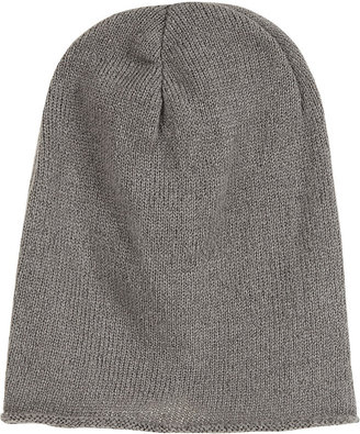 Topshop Rolled Edge Slouchy Beanie
