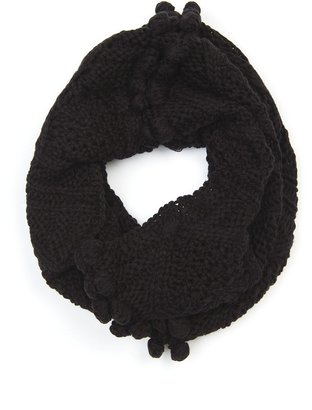 MANGO Bobble knitted snood