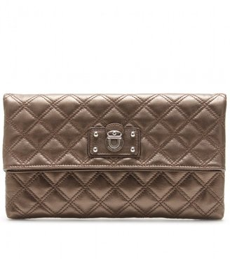 Marc Jacobs LARGE EUGENIE QUILTED LEATHER CLUTCH