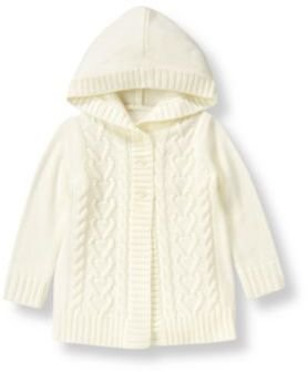 Janie and Jack Hooded Sweater Coat