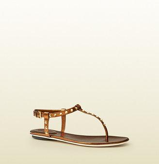 Gucci Yulia Studded Leather Sandal