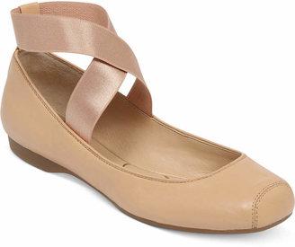 Jessica Simpson Mandalaye Elastic Ballet Flats $69 thestylecure.com