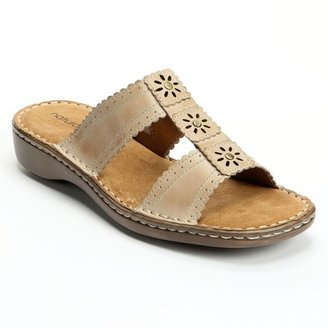Naturalizer by calico slide sandals - women