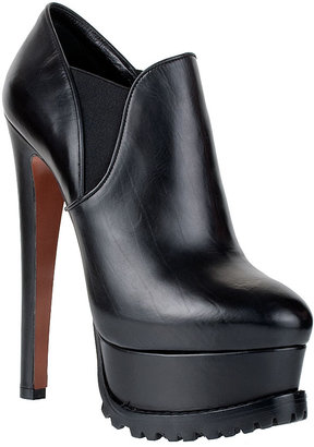 Alaia Leather ankle boot