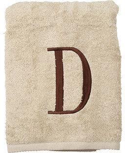 Avanti Premier Monogram Towel Set - Letter D