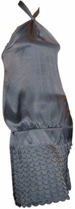 Marc Jacobs Blue Silk Dresses