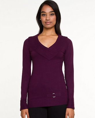 Le Château Viscose Blend Off-The-Shoulder Sweater