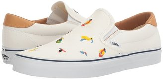Vans - Slip-On 59 True White) Skate Shoes $60 thestylecure.com