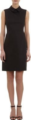 Barneys New York Sheath Dress with Eyelet Accents