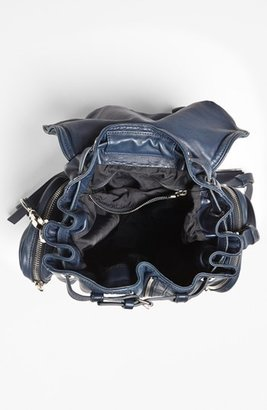 Alexander Wang 'Marti - Nickel' Leather Backpack