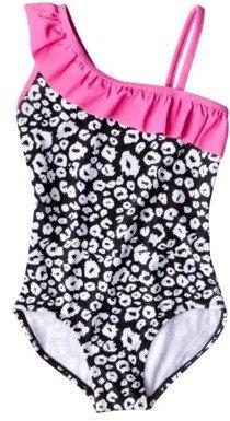 Xhilaration Girls' 1-Piece Swimsuit