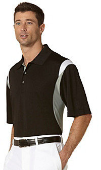 PGA TOUR® Men's Caviar Three Color Stacked Polo