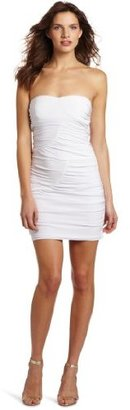 Wrapper Shirred Tube Dress