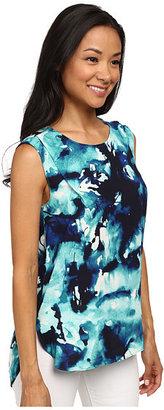 Calvin Klein Jeans Sleeveless Pleat Tank