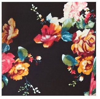 Charlotte Russe Cotton Floral Printed Leggings