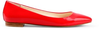 C. Wonder Patent Leather Pointed Toe Flat