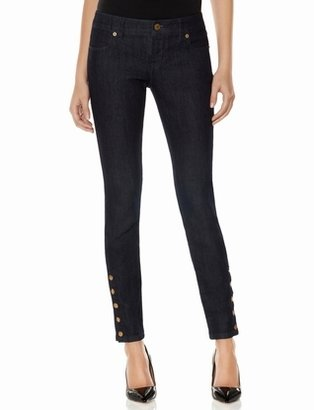 The Limited 678 Button Detail Ankle Pants