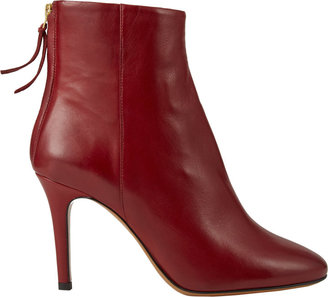 Isabel Marant Aliah Back-Zip Ankle Boots